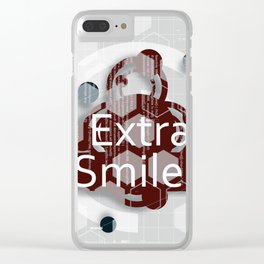 Extra smiles Clear iPhone Case