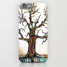 Tree of Many Colors Slim Case iPhone 6s