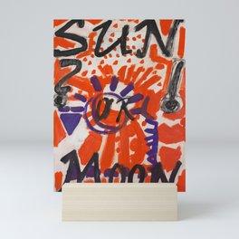 Sun or Moon Mini Art Print