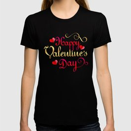 Valentine's Sublimation Happy Valentines Day T-shirt