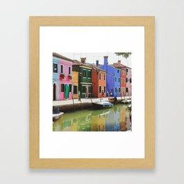 Couleurs italiennes Framed Art Print