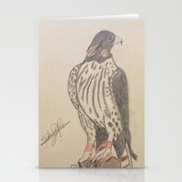 falcon Stationery Cards featuring FALCON by Shomos