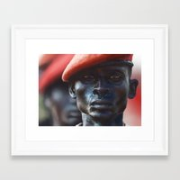 soldier Framed Art Prints featuring Soldier by Pavel Sokov