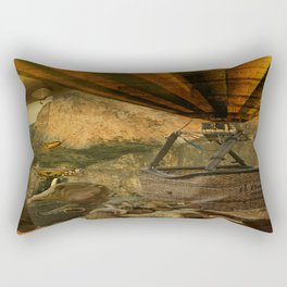 1987 Steampunk Rectangular Pillow