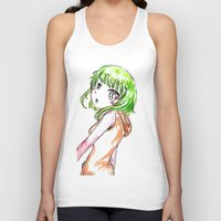 vocaloid Tank Tops featuring Gumi FANART by jannaj