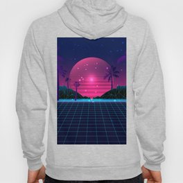 80's Flashback Synthwave Hoody