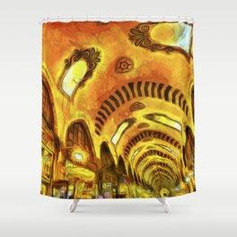 Spice Bazaar Van gogh Shower Curtain