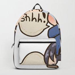 Teachers strictly teaching school children gift Backpack