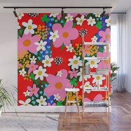 Flower Power! Wall Mural