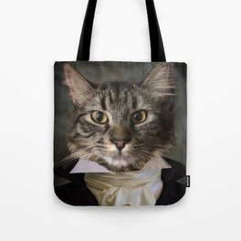 Dapper Cat Tote Bag