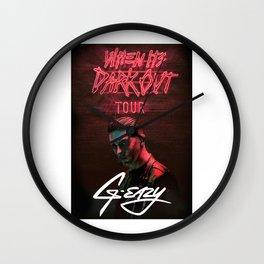 G-EAZY TOUR Wall Clock