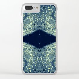 Cracks Clear iPhone Case