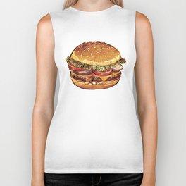 Just Burger Biker Tank