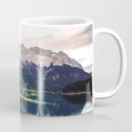 Green Blue Lake and Mountains - Eibsee, Germany Coffee Mug