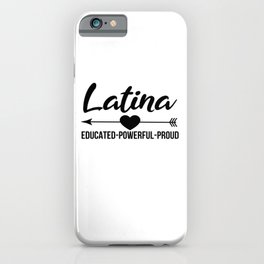 Latina Outfit iPhone Case