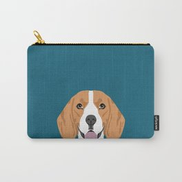 Lenon - Beagle gifts for pet owners and dog person with a beagle Carry-All Pouch