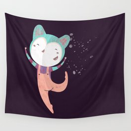 Dance Dreams (Purple) Wall Tapestry