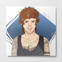 Punk!Louis  Metal Print