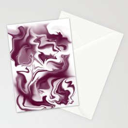 """ABSTRACT LIQUIDS XLII """"42"""" Stationery Cards"""