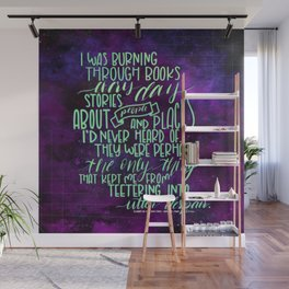 Burning Through Books (ACOMAF) Wall Mural