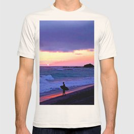 Sunset Skimboarder T-shirt