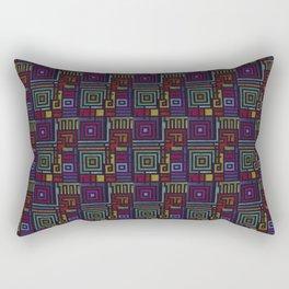 Border Pattern Design (2) Rectangular Pillow