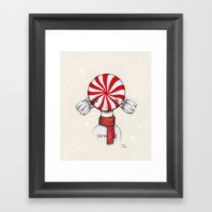 Minty Winter Framed Art Print