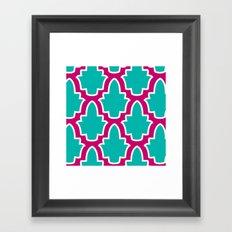 Moroccan Framed Art Print