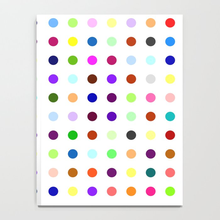 Big Hirst Polka Dot Notebook