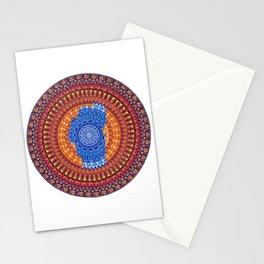 Lake Tahoe Mandala - OG Colors Stationery Cards