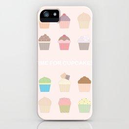 Life Needs Cupcakes iPhone Case