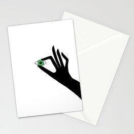 Green Eye Stationery Cards
