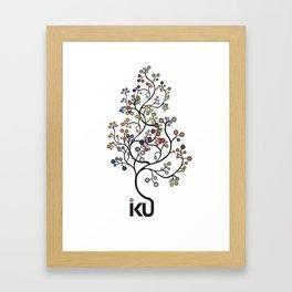 iku Tree Framed Art Print