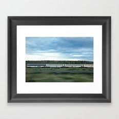 Train' Day Framed Art Print