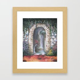 Alcove Framed Art Print