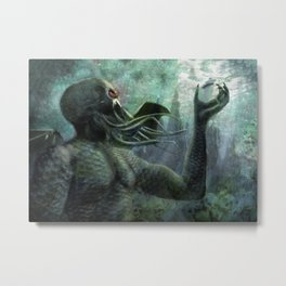 The Depths Metal Print