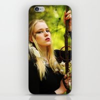 witchcraft iPhone & iPod Skins featuring Witchcraft by Aleksandra Walczak