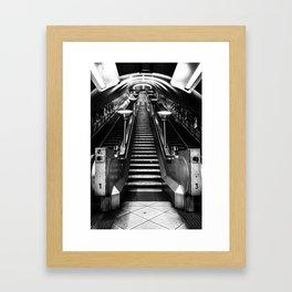 Tooting Bec Tube Station Framed Art Print