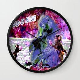 DAD-O BLUE Wall Clock