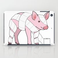 piglet iPad Cases featuring Piglet by Doctor Hue