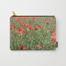 poppy flower no6 Carry-All Pouch