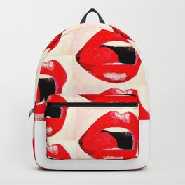 Red Lips #society6 #decor #buyart Backpack