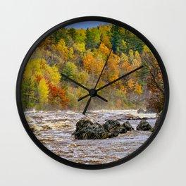 St. Louis River At Jay Cooke Wall Clock