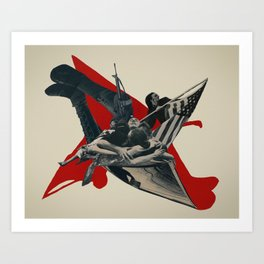 the wail Art Print