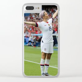 World Cup Megan Rapinoe Goal France Clear iPhone Case