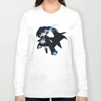 vocaloid Long Sleeve T-shirts featuring Black Rock Shooter by Nozubozu