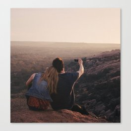 Enchanted Rock Number 2 Canvas Print