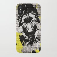puppy iPhone & iPod Cases featuring puppy by Ezgi Kaya