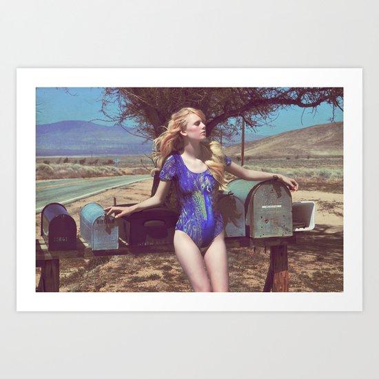 Sabine 2 Art Print