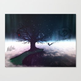 Gone Out Swinging Canvas Print